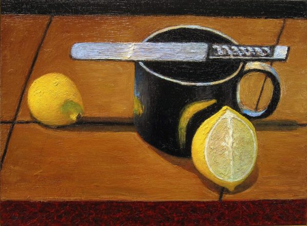 Frank Damiano, Still-Life with Lemon and Knife, 2016