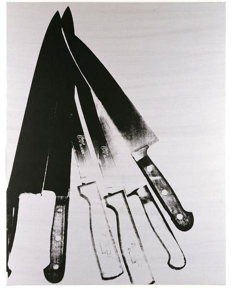 Andy Warhol, Knives, 1982