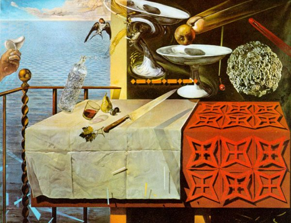 Salvador Dali, Living Still Life, 1956